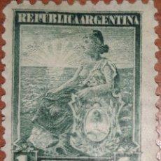 Sellos: SELLO REPUBLICA ARGENTINA 1 CENTAVO 1899. Lote 160376129