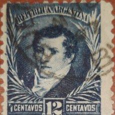 Sellos - Sello Republica Argentina 12 centavos - 160377080