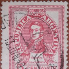 Sellos: SELLO REPUBLICA ARGENTINA 5 CENTAVOS 1949. Lote 160390782