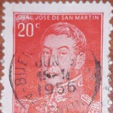 Sellos: SELLO ARGENTINA 20 CENTAVOS 1956. Lote 160400356