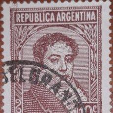 Sellos: SELLO REPUBLICA ARGENTINA 10 CENTAVOS 1949. Lote 160402164