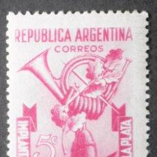 Sellos: 1948 ARGENTINA BICENTENARIO SERVICIO POSTAL RÍO DE PLATA. Lote 163421406