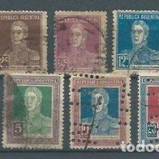 Sellos: ARGENTINA,1923,SAN MARTÍN,USADOS. Lote 163517882