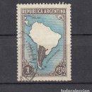 Sellos: ARGENTINA. 1937. YVERT 386 ( FILIGRANA C ). USADO.. Lote 165111354
