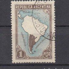 Sellos: ARGENTINA. 1937. YVERT 386 ( FILIGRANA C ). USADO.. Lote 165111406