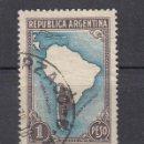 Sellos: ARGENTINA. 1937. YVERT 386 ( FILIGRANA C ). USADO.. Lote 165111478