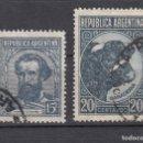 Sellos: ARGENTINA. 1942. YVERT 423/424. USADOS.. Lote 165114062