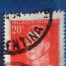 Sellos: ARGENTINA 1955. MICHEL 620. GENERAL SAN MARTÍN. USADO.. Lote 168801952