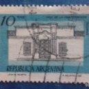 Sellos: ARGENTINA 1978. YVERT 1108.CASA DE LA INDEPENDENCIA EN TUCUMÁN. USADO.. Lote 168806192
