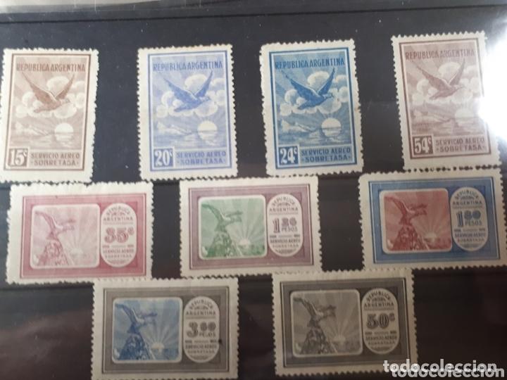SELLOS DE ARGENTINA CORREO AEREO LOT.N.821 (Sellos - Extranjero - América - Argentina)
