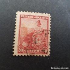 Sellos: ARGENTINA 1899-1903, ALEGORÍA DE LA LIBERTAD SENTADA, SCOTT 134 YVERT 122 , USADO,( LOTE AG ). Lote 174393360