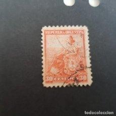 Sellos: ARGENTINA 1899-1903, ALEGORÍA DE LA LIBERTAD SENTADA, SCOTT 137 YVERT 124 , USADO,( LOTE AG ). Lote 174394114