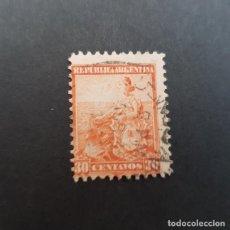 Sellos: ARGENTINA 1899-1903, ALEGORÍA DE LA LIBERTAD SENTADA, SCOTT 137 YVERT 124 , USADO,( LOTE AG ). Lote 174394769