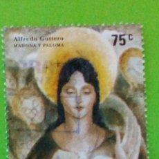 Sellos: ARGENTINA 2006. MADONA Y PALOMA. USED. Lote 175510565