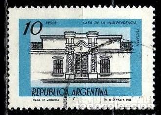 ARGENTINA SCOTT 1161 (CASA DE LA INDEPENDENCIA, TUCUMÁN) USADO (Sellos - Extranjero - América - Argentina)