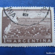 Sellos: ARGENTINA 1954, YVERT 547A. Lote 177630488