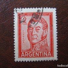 Sellos: ARGENTINA 1959, GENERAL SAN MARTIN,YVERT 604B. Lote 177639765