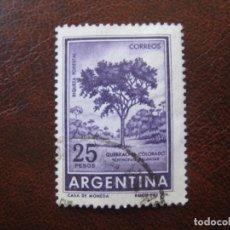 Sellos: ARGENTINA 1959, YVERT 606B. Lote 177640603