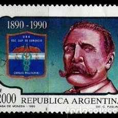 Sellos: ARGENTINA SCOTT 1680 (ESCUELA DE NEGOCIOS CARLOS PELLEGRINI, CENTENARIO) USADO. Lote 177742089