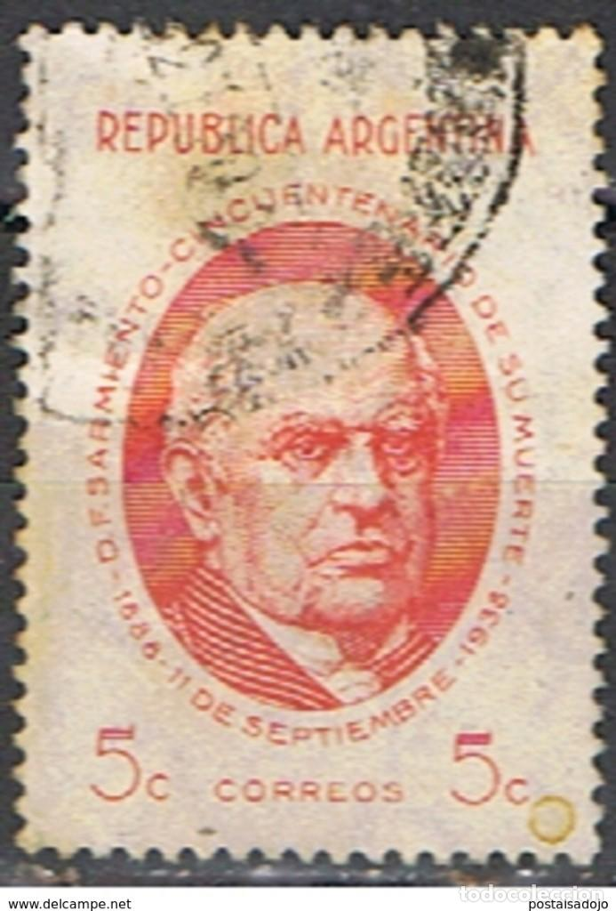 ARGENTINA // YVERT 388 // 1938 (Sellos - Extranjero - América - Argentina)