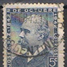 Sellos: ARGENTINA // YVERT 422 // 1942. Lote 183693635