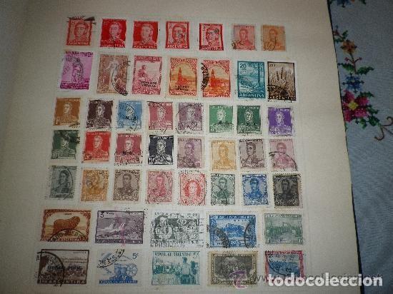 ARGENTINA - LOTE DE 48 SELLOS USADOS (Sellos - Extranjero - América - Argentina)