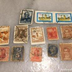 Sellos: ANTIGUO LOTE DE SELLO / SELLOS DE REPUBLICA ARGENTINA MATASELLADOS, VARIOS AÑOS 40-50-60-70-80-90. Lote 188684663
