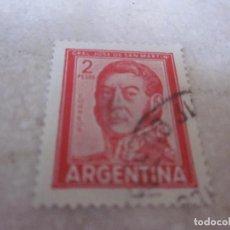Sellos: SELLO ARGENTINA 2 PESOS - GRAL JOSE DE SAN MARTIN. Lote 189193271