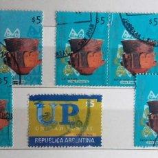 Sellos: ARGENTINA, 8 SELLOS USADOS. Lote 190104563