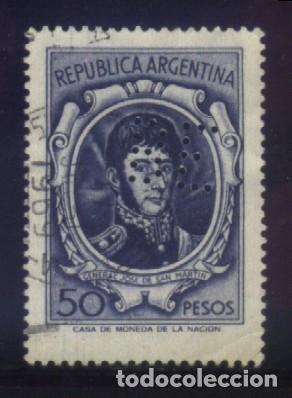 S-4679- REPÚBLICA ARGENTINA. (Sellos - Extranjero - América - Argentina)