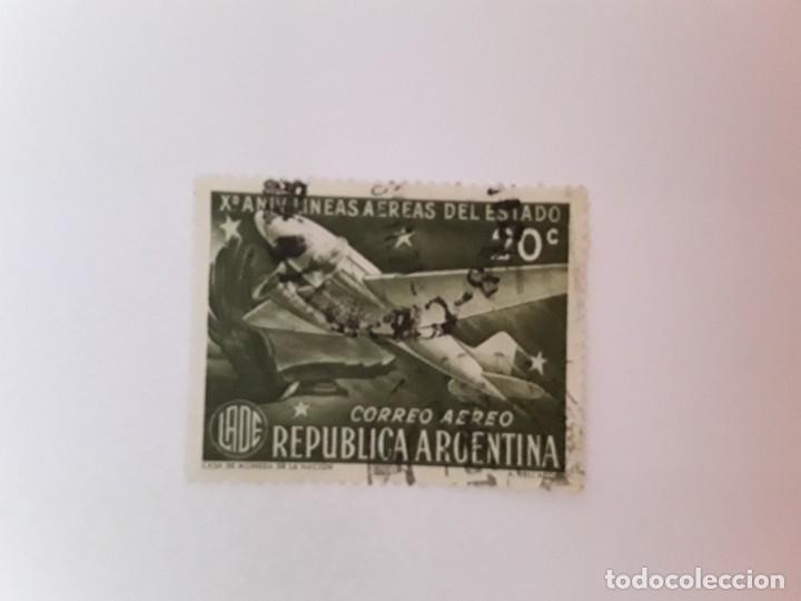 ARGENTINA SELLO USADO CORREO AÉREO (Sellos - Extranjero - América - Argentina)