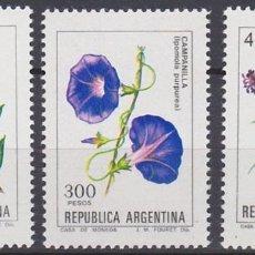 Sellos: LOTE SELLOS NUEVOS - ARGENTINA - FLORES - AHORRA GASTOS COMPRA MAS SELLOS. Lote 191742770