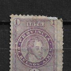 Sellos: ARGENTINA 1876 SELLO FISCAL - 2/7. Lote 193776485