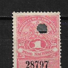 Sellos: ARGENTINA SELLO FISCAL - 2/7. Lote 193776495