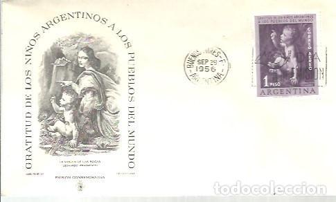 FDC 1956 (Sellos - Extranjero - América - Argentina)