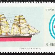 Sellos: 1979. BARCOS. ARGENTINA. 1184. CORBETA 'URUGUAY'. SERIE COMPLETA. NUEVO.. Lote 194182098