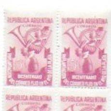 Sellos: ARGENTINA 5 CTS. CORREOS REPUBLICA ARGENTINA. BICENTENARIO IMPLANTACÓN CORREO FIJO.... Lote 194285570