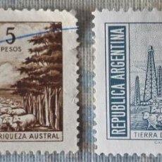Sellos: DOS SELLOS DE ARGENTINA. Lote 196186756
