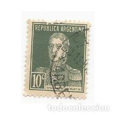 Sellos: SELLO ARGENTINA GENERAL JOSE DE SAN MARTÍN 10 C. Lote 203267031