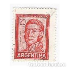 Sellos: SELLO ARGENTINA GENERAL JOSE DE SAN MARTÍN 20 PESOS. Lote 203267118