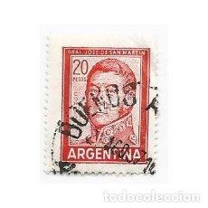 Sellos: SELLO ARGENTINA GENERAL JOSE DE SAN MARTÍN 20 PESOS. Lote 203267301
