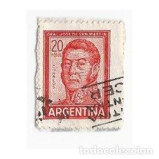 Sellos: SELLO ARGENTINA GENERAL JOSE DE SAN MARTÍN 20 PESOS. Lote 203267523