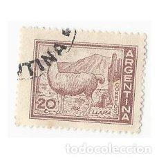 Sellos: SELLO ARGENTINA LLAMA 20 C. Lote 203267968