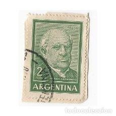 Sellos: SELLO ARGENTINA DOMINGO F. SARMIENTO 2 PESOS. Lote 203268687