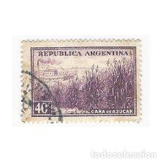 Sellos: SELLO ARGENTINA CAÑA DE AZÚCAR 40 C. Lote 203269571