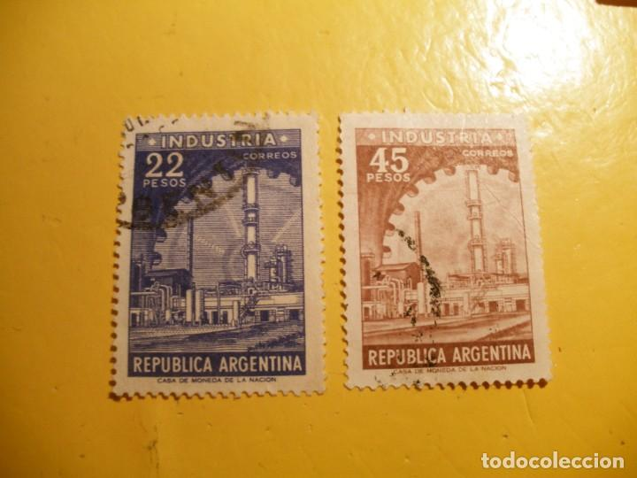 ARGENTINA - INDUSTRIA. (Sellos - Extranjero - América - Argentina)