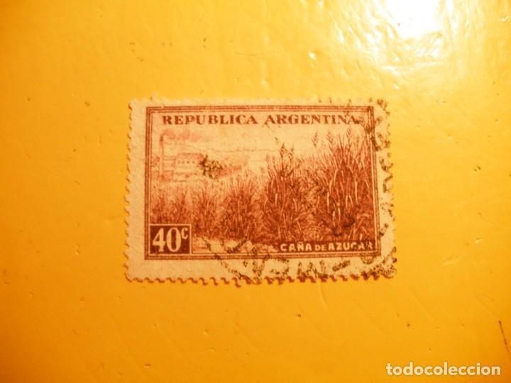 ARGENTINA - AGRICULTURA - CAÑA DE ZUCAR (Sellos - Extranjero - América - Argentina)