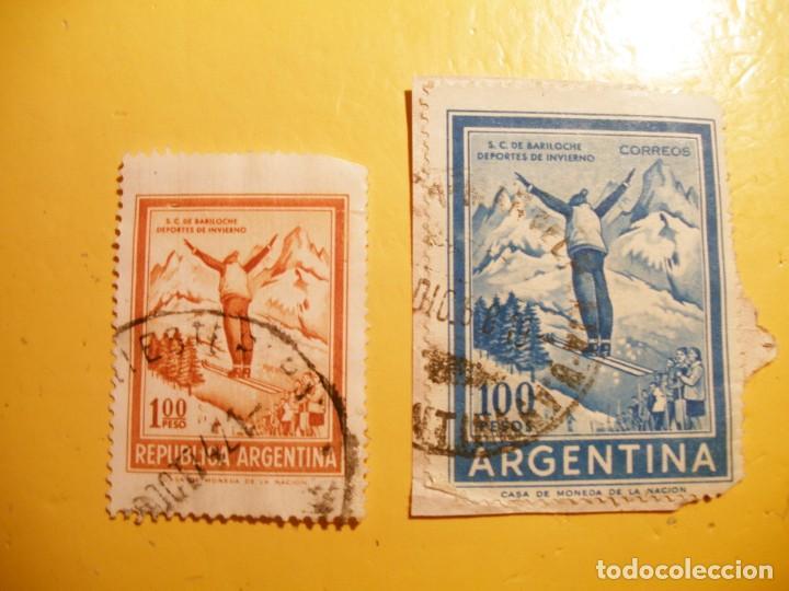 ARGENTINA - DEPORTES DE INVIERNO - SAN CARLOS DE BARILOCHE. (Sellos - Extranjero - América - Argentina)