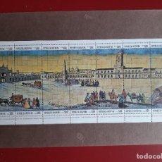 Sellos: ARGENTINA 1980 - BLOQUE 14 SELLOS IV CENTENARIO FUNDACION DE BUENOS AIRES. Lote 207410377