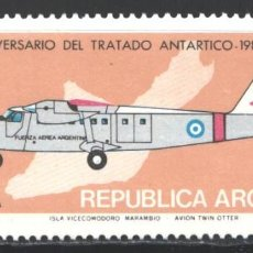 Francobolli: ARGENTINA, 1981 YVERT Nº 1248 /**/, AVIÓN / 20 ANIVERSARIO DEL TRATADO ANTÁRTICO,. Lote 207552747
